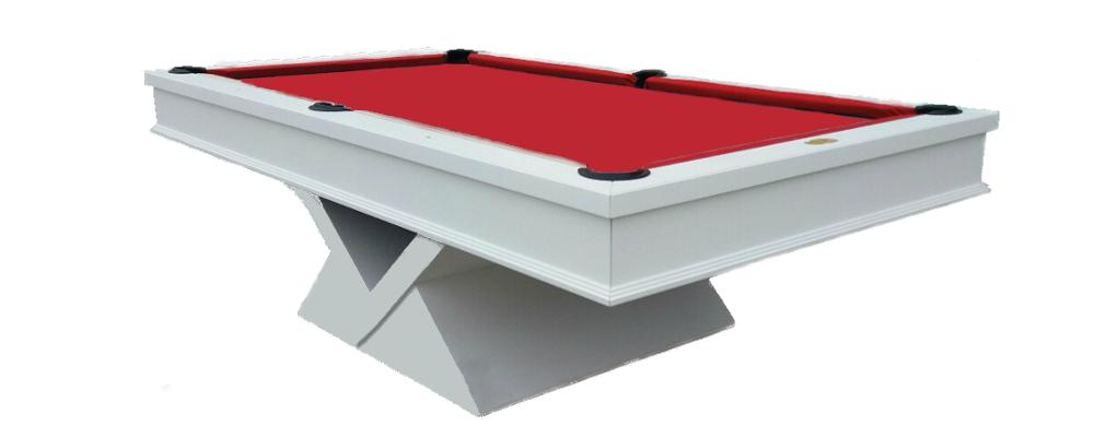 Mesa de Billar/Pool o Carambola modelo Vendetta fabricada en 7, 8 y 9 pies.