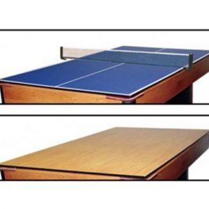 Adaptacao 2 em 1, mesa de jantar verso mesa de tenis de mesa 420