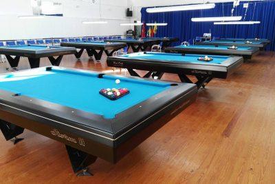 Mesa de Competição Storm 2 no Torneio da Federação Portuguesa de Bilhar